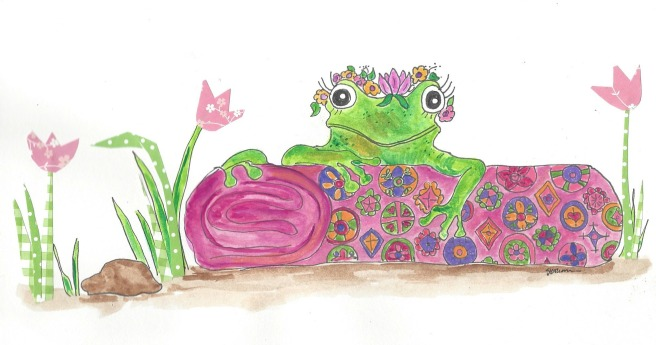 The Frog Princess and Her Rug
