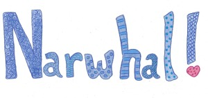 Narwhal word cropped