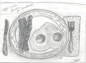Craftsy sketchbook class #2-1 eggs