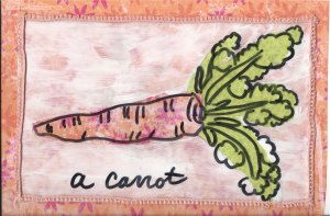 Spark lesson 3 carrot with ribbon