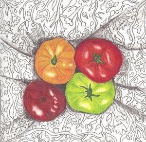 heirloom gardens- tomatos