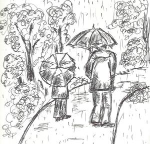 Rainy day sketches #1