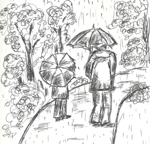 Rainy day sketches #1