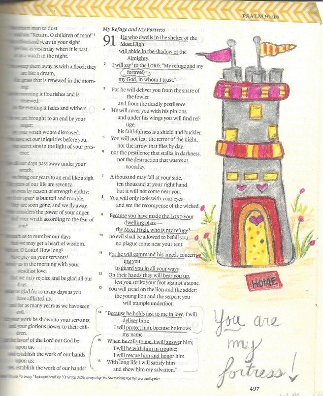 Bible Journaling #1-2